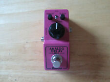 Ibanez Mini Delay real analog guitar effect pedal True Bypass ADMINI