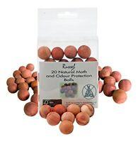 H  L Russel Cedar Wood Balls, Beige, Pack of 40