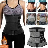 Fajas Waist Trainer Cincher Sweat Belt Fitness Body Shaper Men&Women Gym Girdle