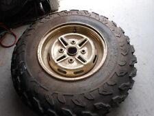 Take Off ATV Tire Wheel Rim Dunlop KT402 AT 25 8 12 Yamaha Big Bear 12 x 6.5 F