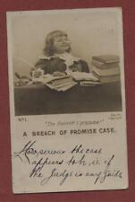Mr Nixon, 42 Thornton Street, Darlington 1904  postcard  zc.78