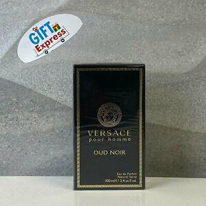 Versace Pour Homme Oud Noir Cologne by Versace 3.4 oz EDP Spray for Men New