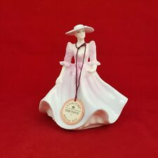 More details for coalport lady figurine - the garden party - 0093 cp