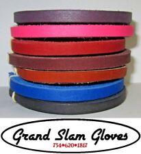 "Baseball and Softball Glove Lacing Kit ⚾2 Laces ⚾3.5"" Lacing Needle ⚾7 Colors"