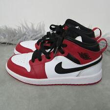 Jordan 1 Mid Chicago Toe PS Size 1Y 640734-173