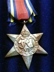 Replica? THE BURMA STAR Medal reenactment. Replacement.