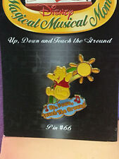 Disney Magical Musical Moments Pin#66 Winnie The Pooh