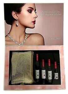 LIMITED EDITION Wine Bottle Make up Gift Set VALENTINES DAY Lipstick Mascara NEW