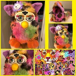 OOAK Custom Furby Hunter Lisa Frank Inspired Rainbow Art Doll