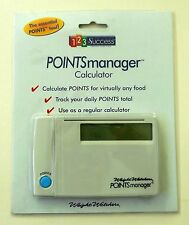 NEW Weight Watchers 123 Success POINTS MANAGER Calculator 1997 Sealed