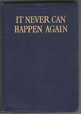 1809 1ST EDITION IT NEVER CAN HAPPEN AGAIN BY WILLIAM DE MORGAN HB GOOD CONDITIO