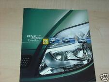 13472) Renault Scenic Emotion Prospekt 2001
