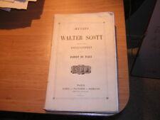 1860.Robert de Paris.Walter Scott.croisade.