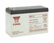 Yuasa NP7-12 12V 7Ah, General Purpose VRLA Lead Acid Rechargeable Battery UK