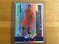 Matchattax 2016/17 Daniel Sturridge Platinum Limited Edition Hologram mint