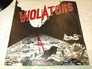 "7"" Vinyl. the Violators: Summer of '81. No Future Records. Oi 19. 1982"