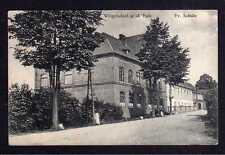 108966 Ak Ostroszowice Weigelsdorf u. D. Owl to 1930 Ev. School Eulengebirge