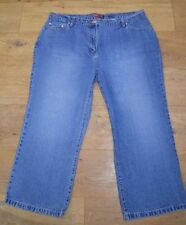 Cotton Faded Capri, Cropped Jeans NEXT for Women