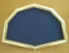cornice ventagliera in legno argento (cm.52x34)