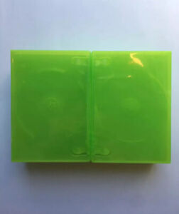New 10 XBOX 360 Translucent Green Replacement Video Game Storage Shell Cases