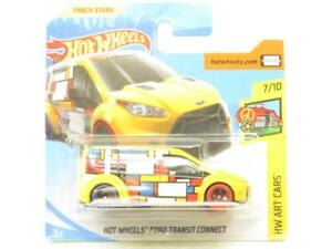 Hotwheels Ford Transit Connect HW Art Cars Short Card 1 64 Scale Sealed New