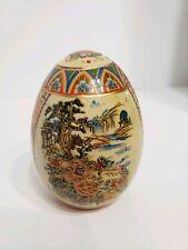 Vintage Ceramic Chinese Egg Easter