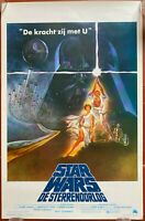 Plakat Belgischer La Krieg Des Sterne Star Wars George Lucas Harrison Ford