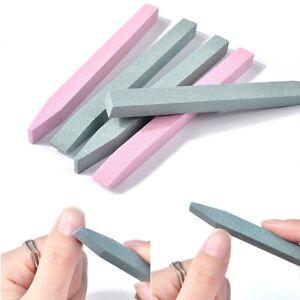 Nail Art Grinding Stone Bar File Exfoliate Quartz Scrub Carving Rod