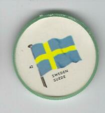 1963 General Mills Flags of the World Premium Coins #42 Sweden