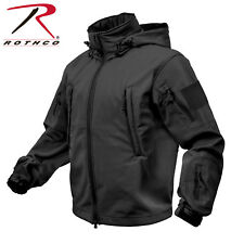 Rothco Waterproof Windproof Tactical SoftShell Jacket Cold Weather w/ Watch Cap