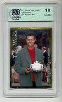 ~ 2001 SCI Tiger Woods PGI 10 Gold rookie card MASTERS!!!