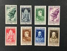 {BJ Stamps} VATICAN CITY, 47-54, set of 8, 1936. F-VF, OG, MH, CV $105.80