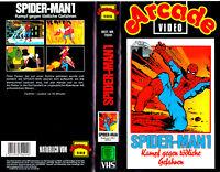 """VHS - """" Spider-MAN 1 - Kampf gegen tödliche Gefahren """""""