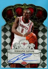 2009-10 Crow Royale Jermaine Taylor RC On-Card Auto 584/699 #131