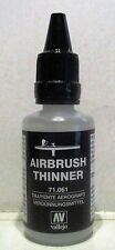 Vallejo 71.061 - Acrylic Airbrush Thinners 32ml Plastic Bottle - Tracked 48 Post