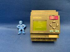 Siemens 6ED1 052-1FB00-0BA6 LOGO! 230RC Logic Module with 32KB Memory