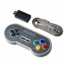 8Bitdo SF30 2.4G Wireless Controller Gamepad with Retro Wireless Receiver for S