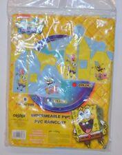 IMPERMEABLE HABIT DE PLUIE DE PLUIE EN PVC BOB L EPONGE T 8 ANS PARAPLUIE
