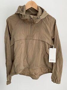 Lululemon Seek Vistas 1/2 Zip Jacket NWT Frontier Size XS/S M/L XL Khaki