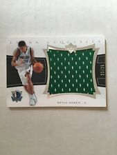 Devin Harris 2004-05 UD Exquisite Collection EXTRA Jersey Patch RC Rookie #22/25