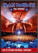IRON MAIDEN EN VIVO! 2 DVD ALL REGIONS PAL NEW