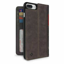 Twelve South BookBook 3in1 Leather Wallet Folio Case iPhone 8 Plus/7 Plus Brown