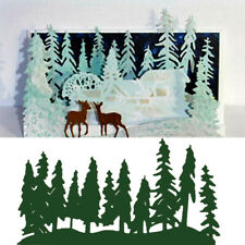 Forest Cutting Dies Cut Mold Scrapbook Mould Stencils DIY Craft Metal Card Art