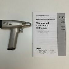 Stryker Instruments 296-92 Electric Heavy Duty Drill Orthopedist Hand Piece