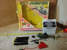 Vintage Cox Sky Jumper, Heuy Paratroop Helicopter. Free flight gas/nitro engine!