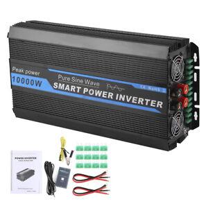 10KW Car Power Converter Transformer Pure Sine Wave Voltage Inverter 12V to 240V
