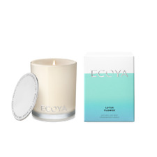 Ecoya-Lotus Flower Mini Soy Wax Fragranced Candle 80g