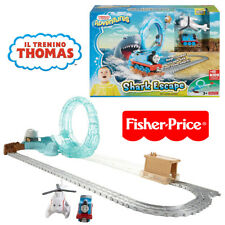 PISTA TRENINO THOMAS E FRIENDS FUGA DALLO SQUALO FISHER PRICE DVT12