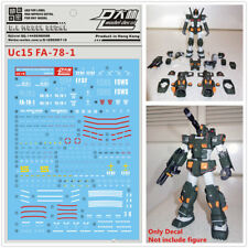 D.L high quality Decal water paste Uc15 For Bandai Mg Fa-78-1 Full Armor Gundam
