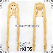 Rozen Maiden Shinku cosplay wig costum gold colour long ver